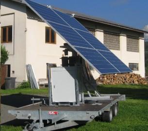 Mobiler Suntracker