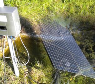 Suntracker ST2000R mit Solarwasserpumpe